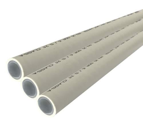 Труба поліпропіленова з алюмінієвою фольгою Kalde PPR Super Pipe 20 мм PN 25