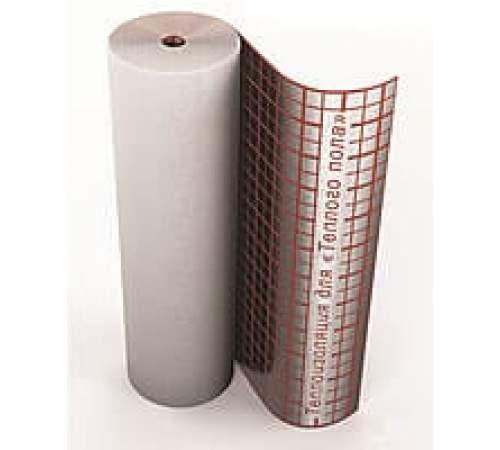 "Полотно с разметкой (ширина-100 см,толщ.- 2,0 мм) ""Теплоизол"""