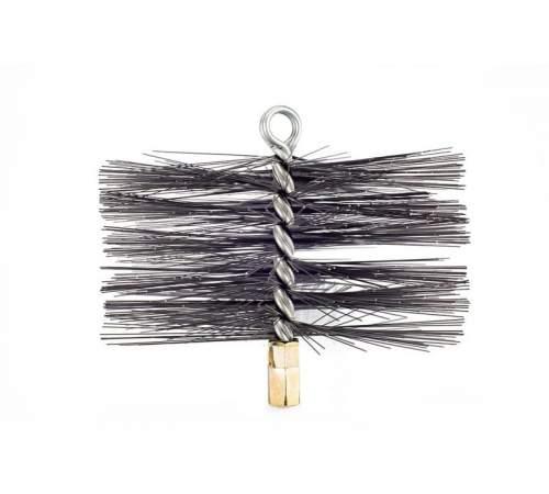 Щітка (йорж) металева для чищення димоходу 40 мм.